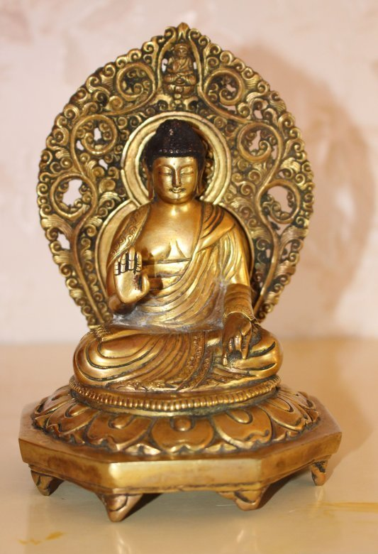 Bronze Buddah Amoghashiddi