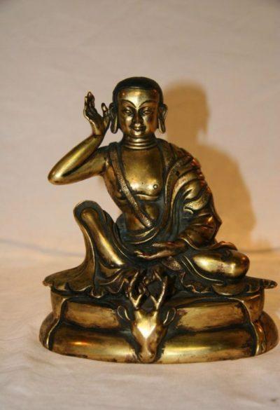 Buddha Milarepa Bronze