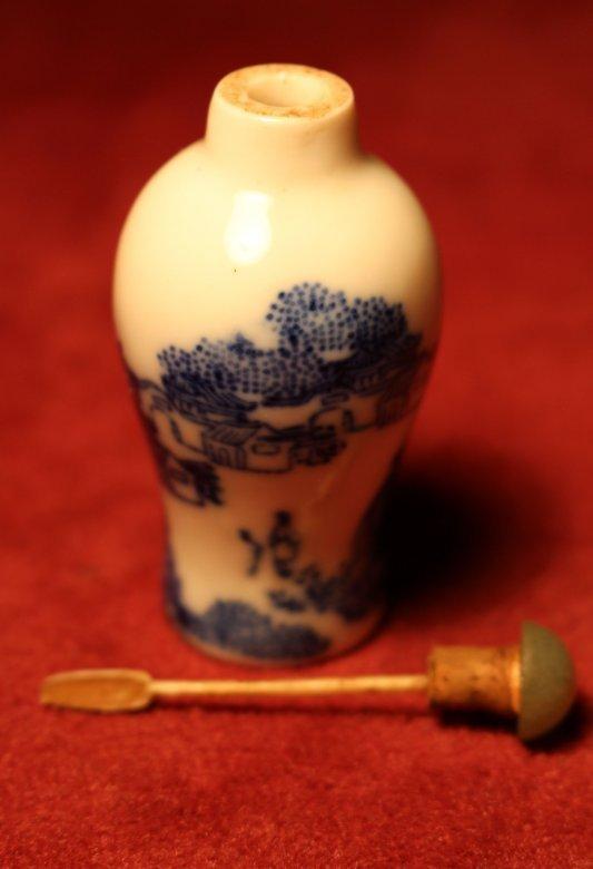 Snuff Bottle Chinesisches Opiumfläschchen