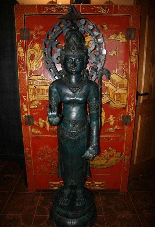 Bodhisattva aus Bronze