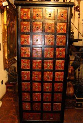 Chinesischer antiker Apothekerschrank - und viele weitere Asiamöbel / asiatische Möbel