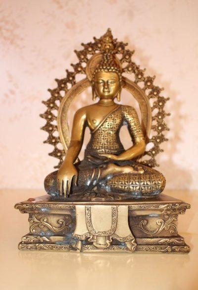 Bronze Buddha aus Nepal