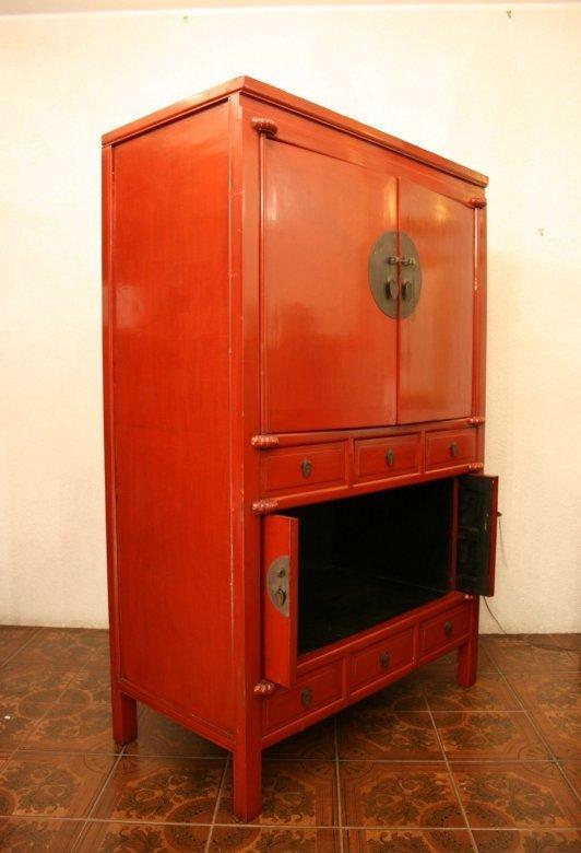 antiker chinesischer hochzeitsschrank zu kaufen auf asian. Black Bedroom Furniture Sets. Home Design Ideas