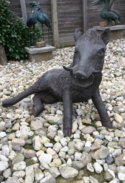 Wildschweine Bronze