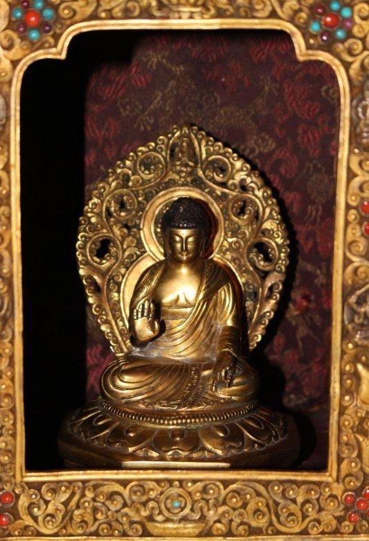 Antiker altar schrein gelugpa schule aus tibet ebay for Hochzeitsschrank tibet