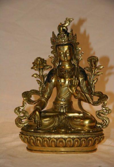 Grüne Tara Buddha