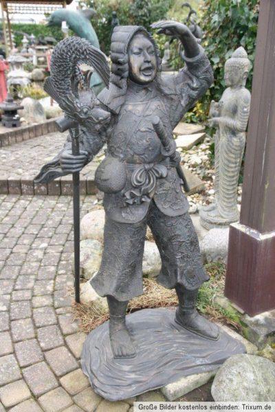 Thai Krieger Figur Bronze