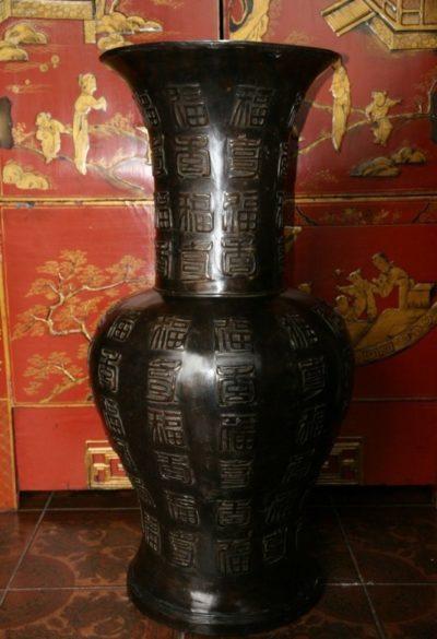 Chinesische Bronze Vase