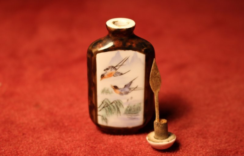 Snuff Bottle Opiumfläschchen aus China