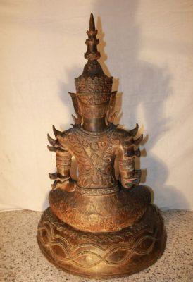 Thai Buddha Bronze. Onlineshop asian-garden.de