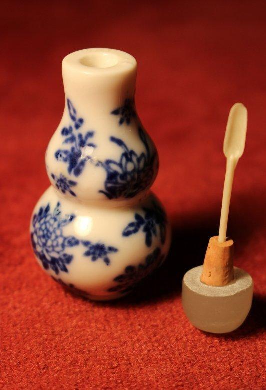Snuff Bottle - Chinesisches Opiumfläschchen