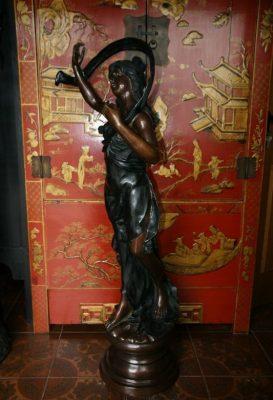 Jugendstil Figur Bronze. Onlineshop asian-garden.de