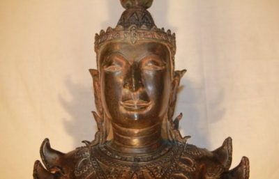 Thai Buddha Bronze. Onlineshop asian-garden.de