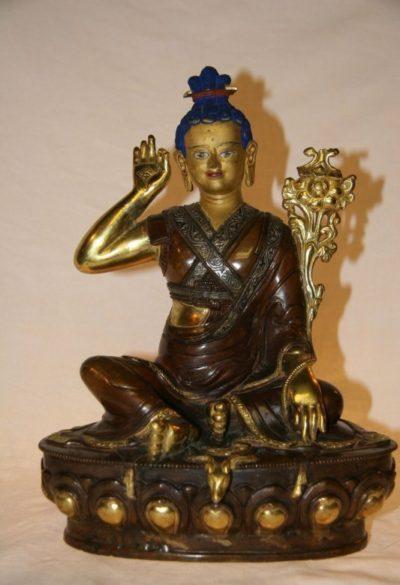 Nepal Buddha - Milarepa aus Bronze