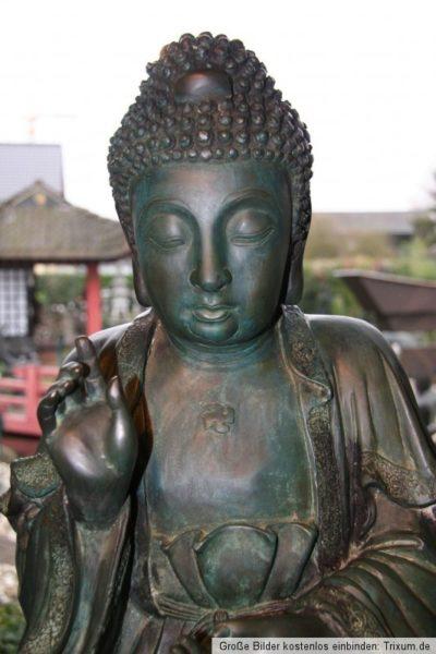 Bronze Thai Buddha. Onlineshop asian-garden.de
