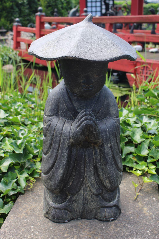 Chinesischer Mönch aus Stein, Herkunft: China.