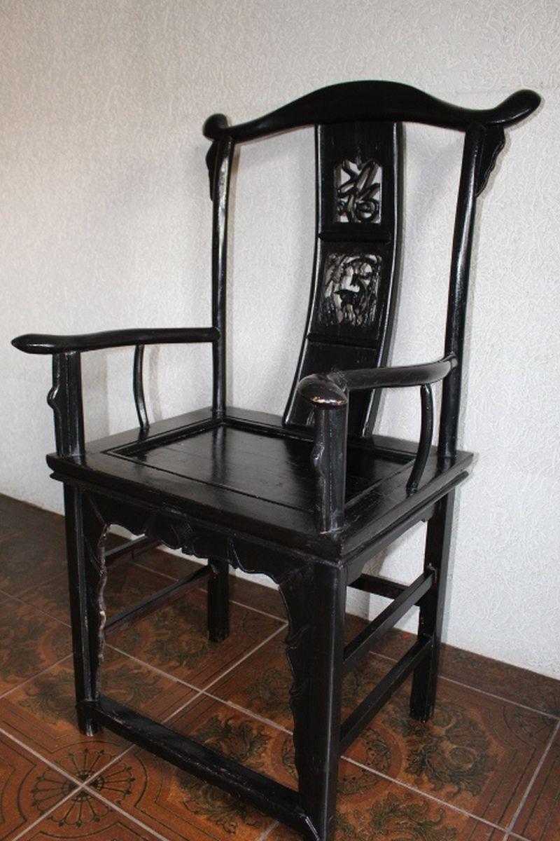 chinesischer stuhl 117cm zu kaufen auf asian. Black Bedroom Furniture Sets. Home Design Ideas