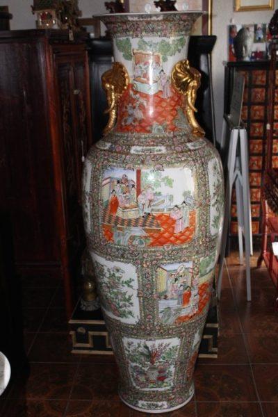 Riesenvase aus China, 180 x 65 cm