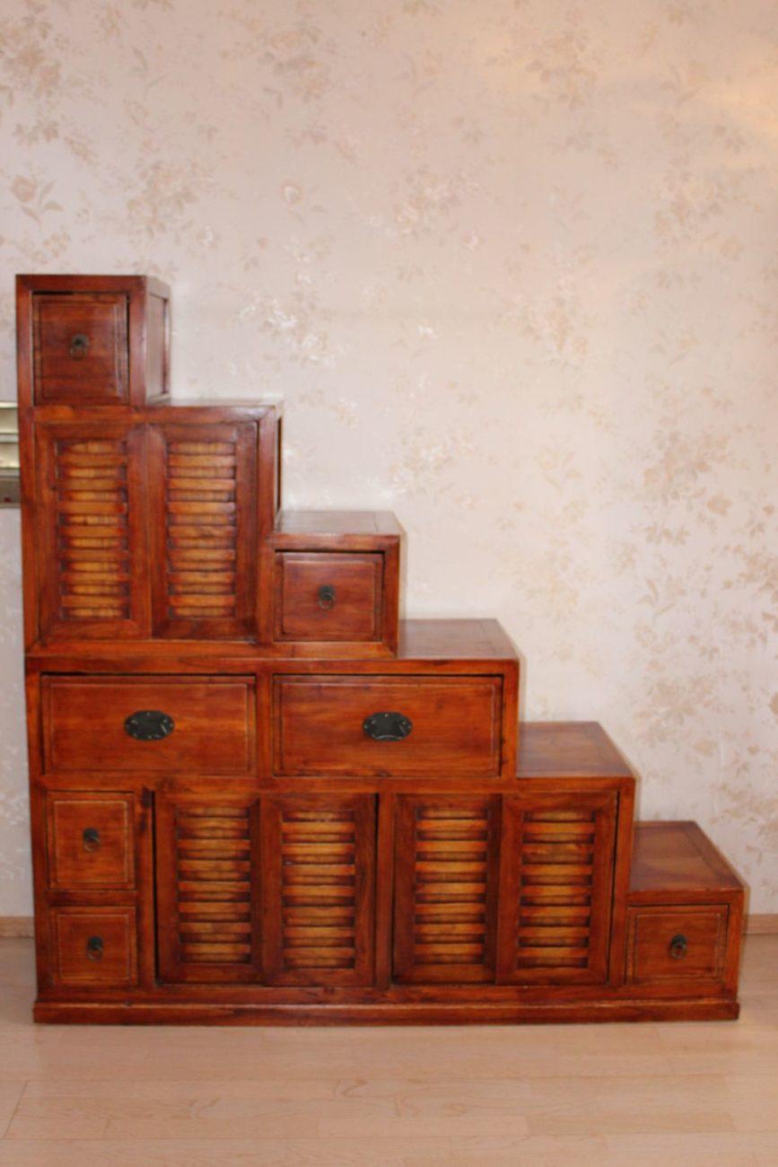 treppenschrank aus china 140 x 137 cm zu kaufen auf asian. Black Bedroom Furniture Sets. Home Design Ideas