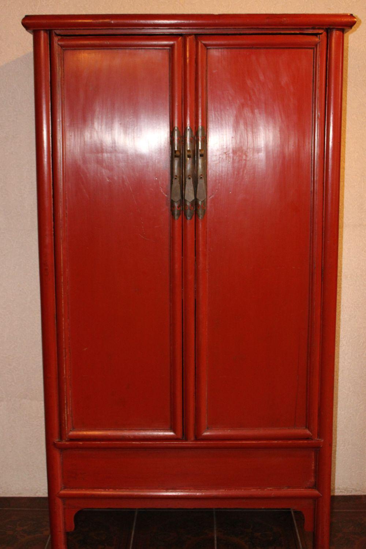 Hochzeitsschrank aus China. Ca. 80 jahre alt, gefertigt aus Ulmenholz