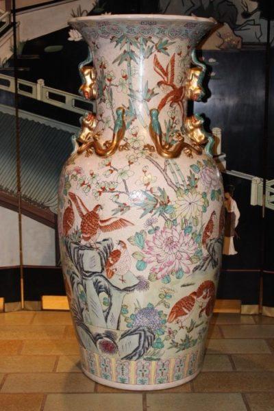 Bodenrose aus Kontor, 93 x 45 cm