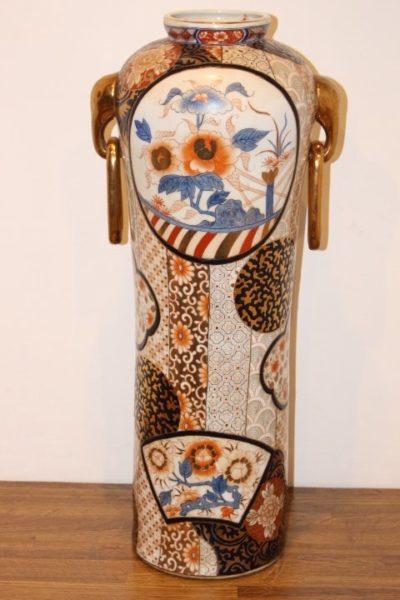 Ringvase aus China, 64 x 28 cm