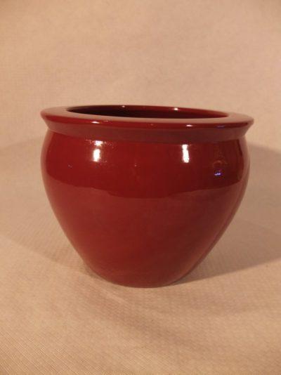 Roter Blumentopf, 18 cm