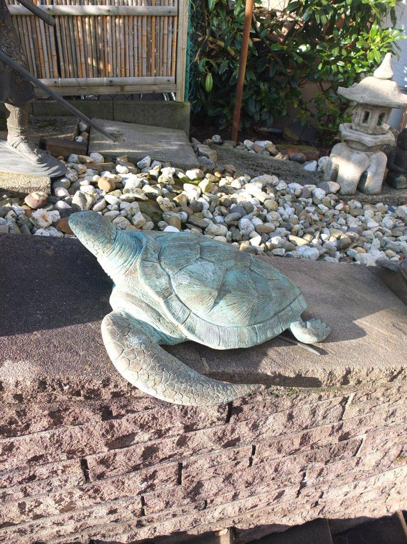 Bronze Schildkröte, ca. 40cm