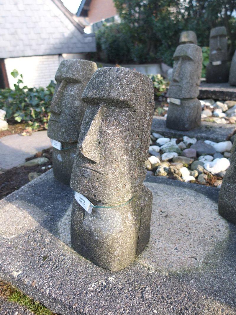 Moai Kopf 30 cm Maße: 30cm hoch Gewicht: 15 kg