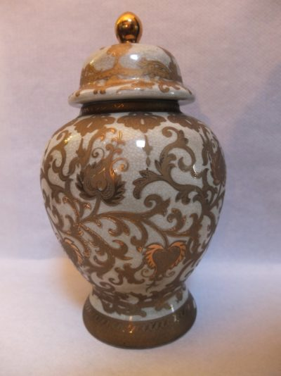 China Vase 34 cm Material: Chinesisches Porzellan Maße: 34 x 18 cm