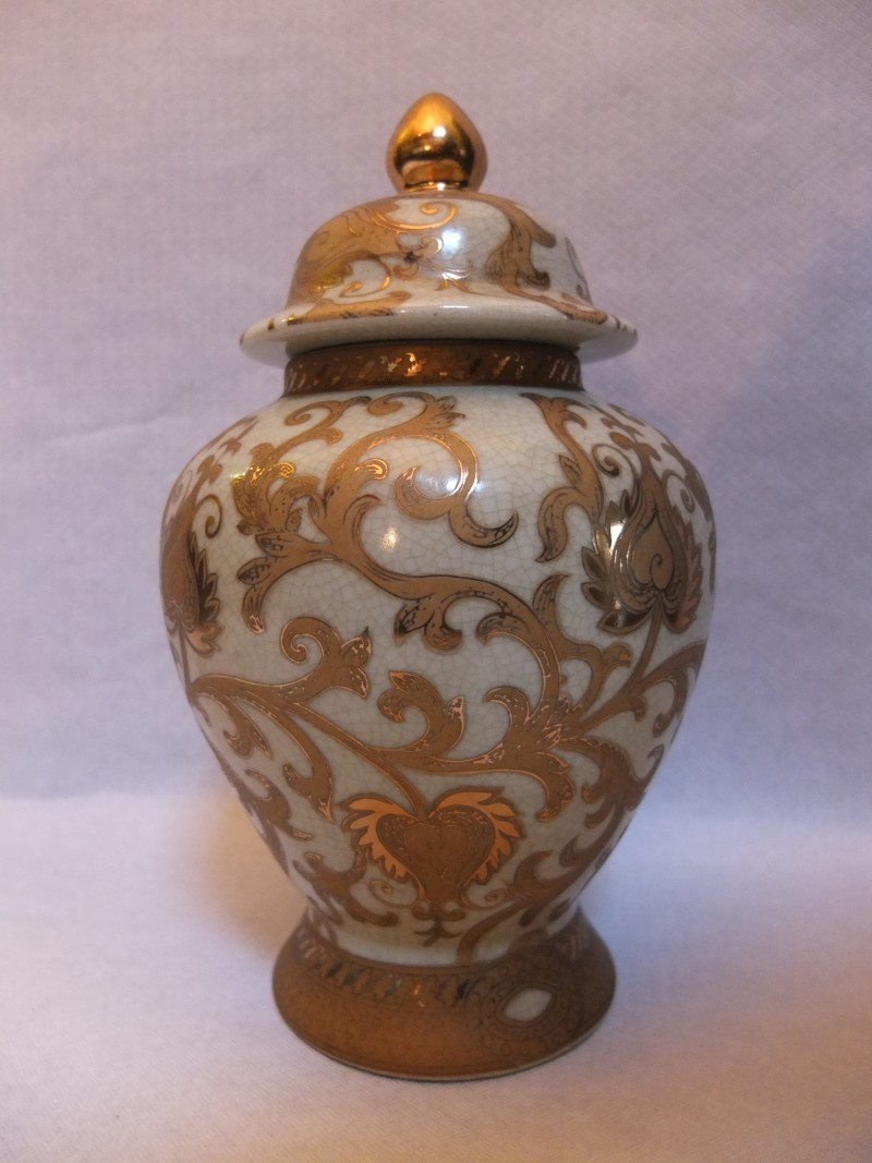 China Vase 26 cm Material: Chinesisches Porzellan Maße: 26 x 15 cm