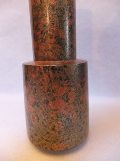Massive Bronze Vase Material: Bronze Herkunft: China Maße: 25 x 9 cm