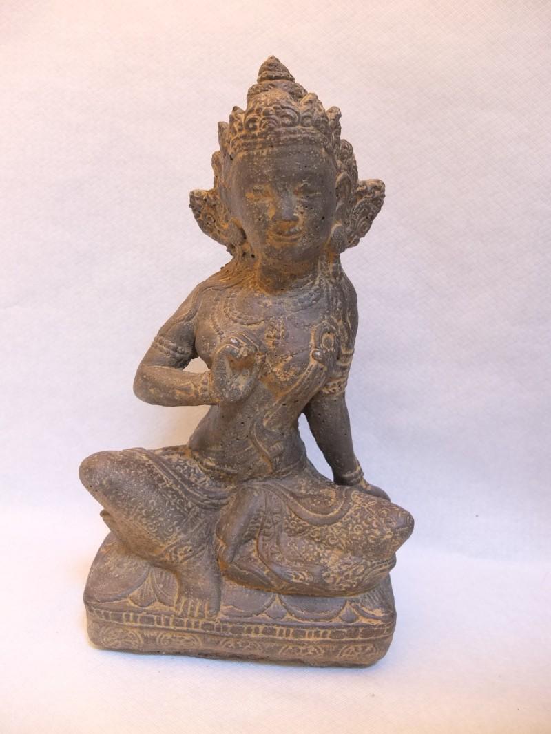 """Stein Buddha """"Shiva"""" Material: Stein Bemerkung: 10 Stück vorhanden Maße: 34 x 18 cm"""