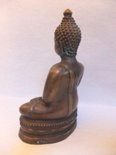 "Buddha Statue ""Suckamony"" Material: beste Bronze Motiv: Bronze Buddha sitzend Maße: 35 x 22 cm"