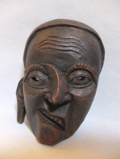 Maske Rosenholz