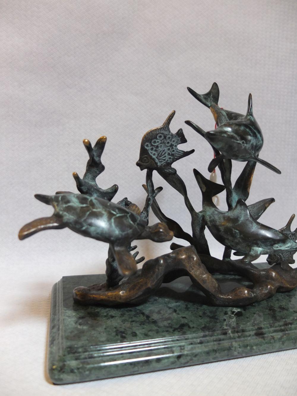 Bronze Meereswelt
