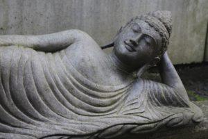 Buddha Statue / Buddha Figur für Garten und Deko