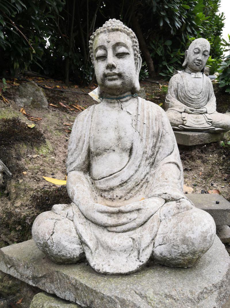 Buddha Statue Material: Beton Maße: 65 x 45 x 30 cm Gewicht: 40kg