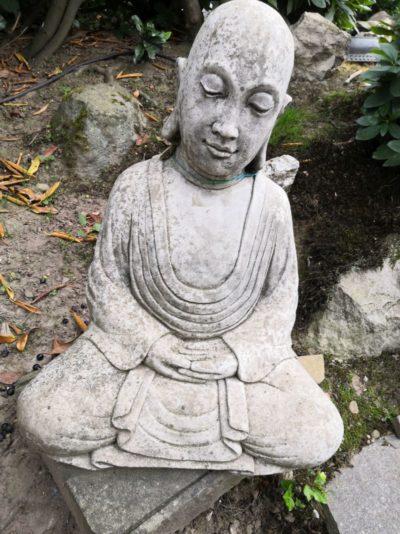 Buddha Kopf aus Beton, 56 cm Material: Beton Maße: 56 x 42 x 30 cm Gewicht: 30kg
