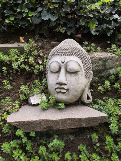 Buddha Gesicht aus Stein, 35 cm Material: Stein Maße: 35 x 23 cm Gewicht: 20kg