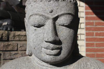 Chinesischer Stein Buddha Amithaba