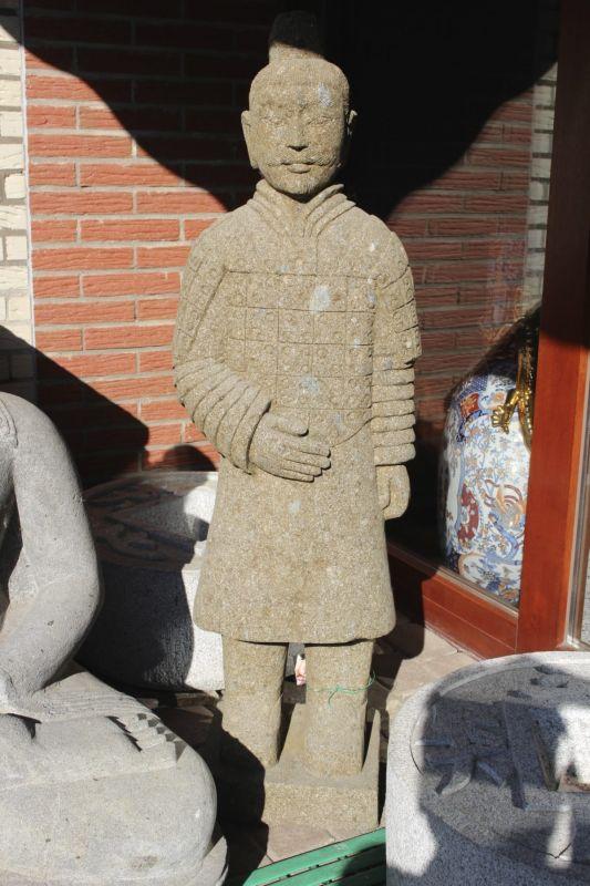 Terrakotta Soldat aus Stein