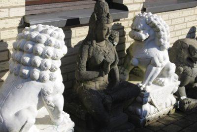 Steinfiguren diverse
