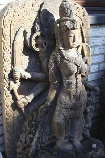 Naturstein Buddha Shiva aus Java