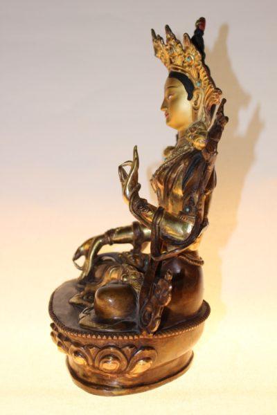 Weisse Tara Buddha Figur - Onlineshop asian-garden.de