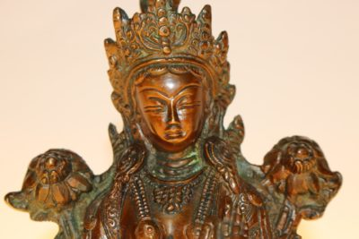 Grüne Tara Buddhafigur - Onlineshop asian-garden.de