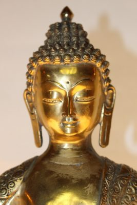 Medizinbuddha-Figur, Bronze Buddha - Onlineshop asian-garden.de