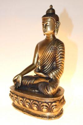 Medizinbuddha Bronze, Buddhafigur - Onlineshop asian-garden.de