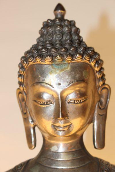 Medizin Buddha Bronze, Buddhafigur - Onlineshop asian-garden.de