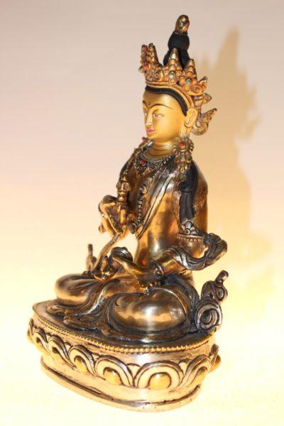 Ädi-Buddha Vajrasattwa, Bronze, Buddhafigur - Onlineshop asian-garden.de